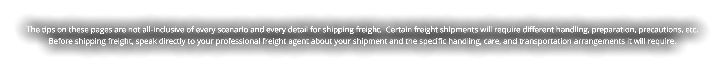 How To Ship Freight Truck Start to Finish Call 800-262-2746